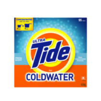 Ultra Tide Fresh Scent Laundry Powder for Coldwater
