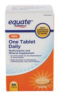 Equate Men One Tablet Daily Multivitamin and Mineral Supplement