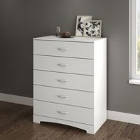 South Shore SoHo 5-Drawer Chest Pure White