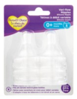 Parent's Choice™ Vari-Flow Silicone Bottle Nipples