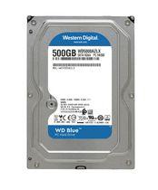 """Western Digital Blue 500GB 5400 RPM Sata 6 Gb/s 7MM 2.5"""" Notebook Drive"""