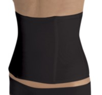Cupid® Smooth Extra Firm Waist Cincher Black M