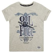 George British Design Boys' Oil & Fuel T Shirt 5