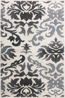 hometrends Venetian Polypropylene Floral Rectangle Accent Rug 30 x 45