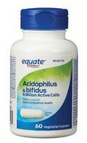 Equate Acidophilus & Bifidus 6 Billion ACTIVE Cells
