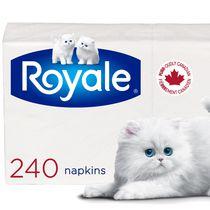 Royale Serviettes de table, 1 ép., 240 serviettes