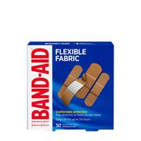 Pansements en tissu flexible de BAND-AID(MD), paquet familial