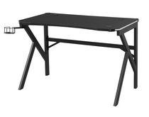 Pepita Gaming Desk, Black