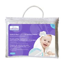 Baby Works Quilted & Fitted Bamboo Crib Mattress Protector