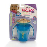 Wow Cup Juicy Baby Spill Free Blue Training Cup