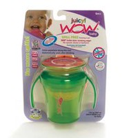 Wow Cup Juicy Baby Spill Free Green Training Cup
