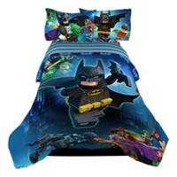 "Batman Lego Twin/Full ""No Way Brozay"" Reversible Comforter"