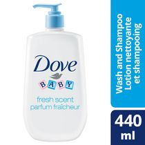 Dove® Baby Fresh Scent & Tear Free Wash & Shampoo