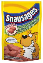 Snausages Canine Carryouts Beef Dog Snacks