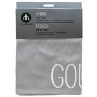 hometrends Kitchen Apron Grey