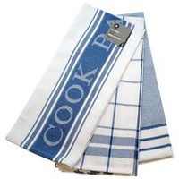 hometrends Tea Towels Blue