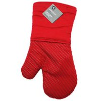hometrends Silicone Oven Mitt Red
