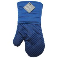 hometrends Silicone Oven Mitt Blue