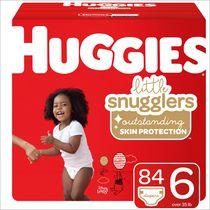 Couches pour bébés Huggies Little Snugglers, Emballage Mega Colossal