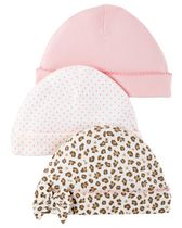 Child of mine made by Carter's  Girls' Caps, Pack of 3 0-3