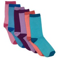 George Girls Cotton Blend Wardrobe Cuff Socks