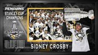 Cadre imprimé encadré 10 x 20 po Penguins de Pittsburgh Coupe Stanley 2016 Sidney Crosby de Frameworth Sports