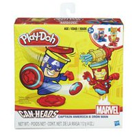 Play-Doh Marvel Can-Heads - Iron Man et Captain America