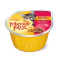 Meow Mix Tender Favourites Chicken & Beef Wet Cat Food