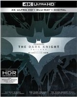 The Dark Knight Trilogy (4K Ultra HD + Blu-ray + Digital) (Bilingual)