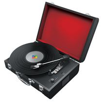 Polaroid Bluetooth Turntable With Built in Speakers Black