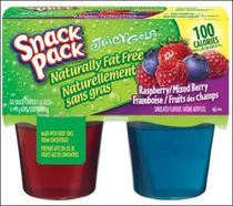 Snack Pack® Raspberry and Mixed Berry Juicy Gels Fruit Juice Cups