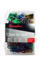 ACCO® Clips To Go!™ - Assorted