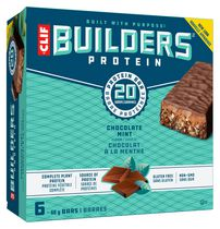 CLIF Builder's Protein Chocolate Mint Bars