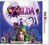 Nintendo The Legend Of Zelda: Majora's Mask 3D 3DS