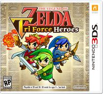 Jeu vidéo The Legend of Zelda : TriForce Heroes Nintendo 3DS
