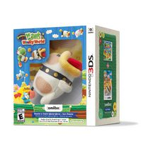 Poochy & Yoshi's Woolly World + Yarn Poochy amiibo (3DS)