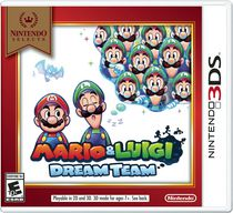Nintendo Selects: Mario & Luigi: Dream Team 3DS