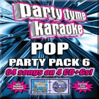 Karaoke - Party Tyme Karaoke: Pop Party Pack 6