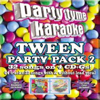 Sybersound - Party Tyme Karaoke: Tween Party Pack 2 (4CD)