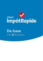 Intuit TurboTax Basic Software - French only