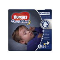 Couches Huggies Overnites Giga Taille 6