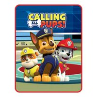 "PAW Patrol Boy ""Calling all Pups"" Silk Touch Throw"