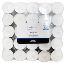 Mainstays Unscented Tealight Candles