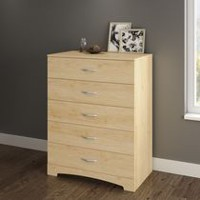South Shore SoHo Collection 5-Drawer Chest Maple