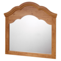 South Shore Prairie Collection Mirror, Country Pine finish