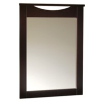 South Shore SoHo Collection Mirror Brown