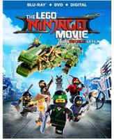 The Lego Ninjago Movie (Blu-ray + DVD + Digital) (Bilingual)