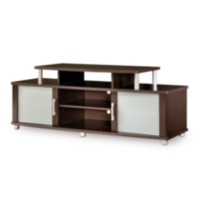 South Shore City Life collection TV Stand Chocolate