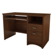 South Shore Gascony Collection Computer Desk, Sumptuous Cherry finish
