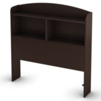 "South Shore Logik Collection Twin Bookcase Headboard (39"") Brown"